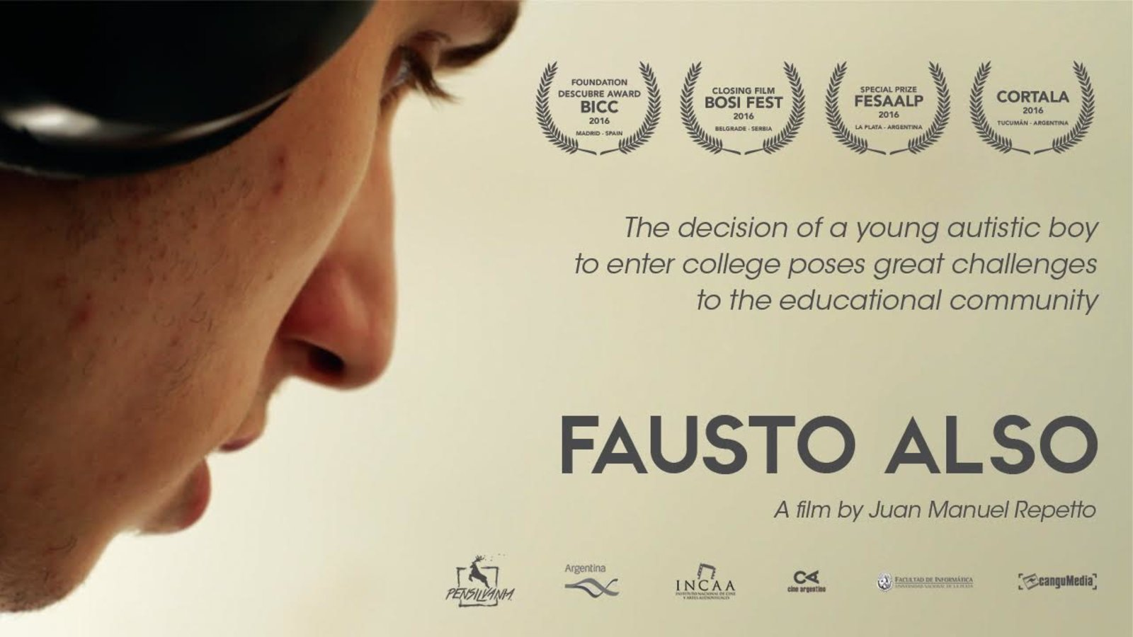 Fausto Also (Fausto También) - The Journey of an Autistic Teenager Attending College in Argentina